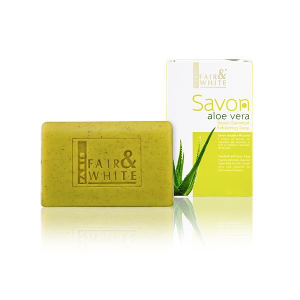 Fair & White Original Aloe Vera Savon Gommant Exfoliating Soap