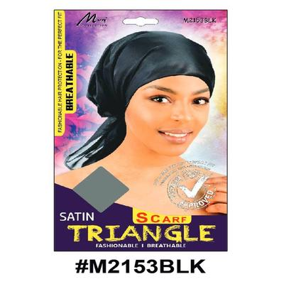 Murry Satin Triangle Black - M2153blk