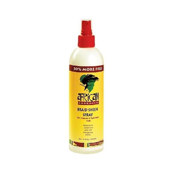 African Essence Braid Sheen Spray