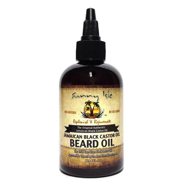 Sunny Isle Jamaican Black Castor Oil Beard Oil