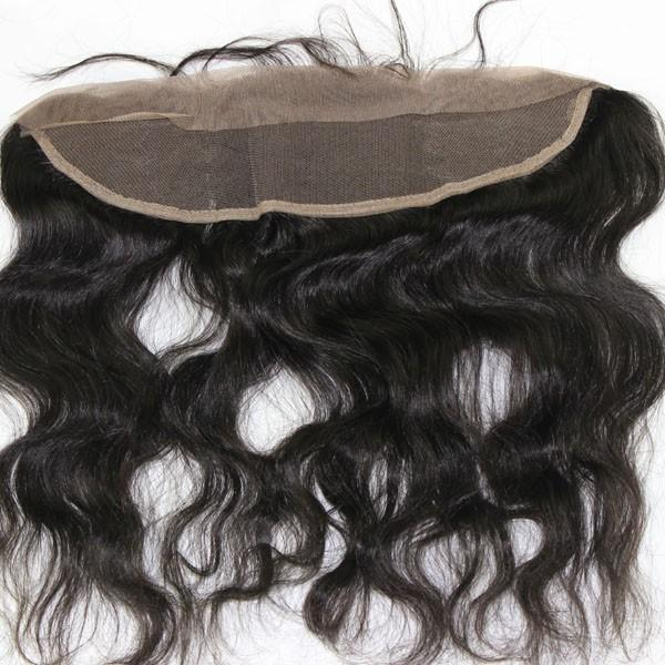 "Luscious Soul Passion Brazilian 13"" X 4"" Ear To Ear Body Wave  Frontal Closure"