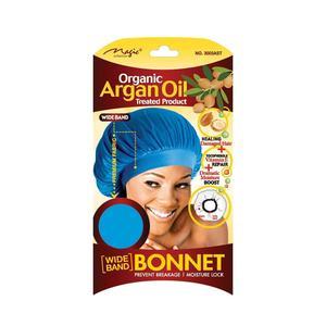 Magic Collection Organic Argan Oil Bonnet Assorted Color - 3003ast