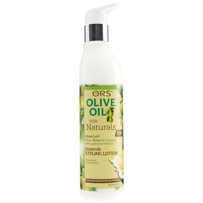 Ors Olive Oil Natural Butter Milk Styling Lotion