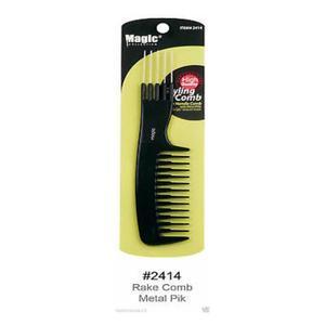 Magic Collection Rake Comb Metal Pik - 2414
