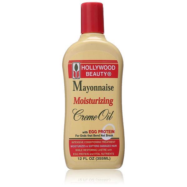 Hollywood Beauty Mayonnaise Moisturizing Creme Oil