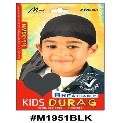 Murry Kids Durag Black - M1951blk