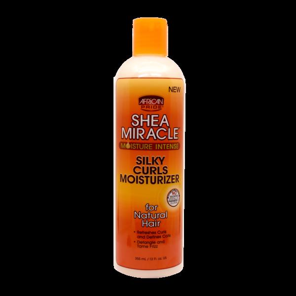 African Pride Shea Butter Miracle Moisture Intense Silky Curls Moisturizer