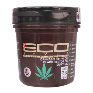 Eco Styler Cannabis Sativa Oil Black Castor Oil Olive Oil Gel