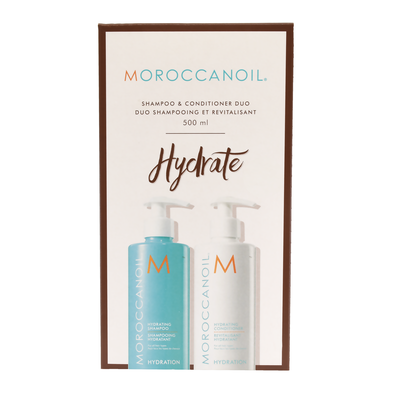 Moroccanoil Hydrating Shampoo & Conditioner - 500ml Duo Pack