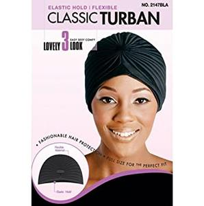 Magic Collection Women's Classic Turban - 2147Bla
