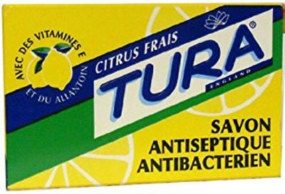 Tura Anticeptic Soap (pack Of 3)