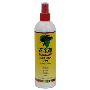 African Essence Braid Sheen Spray