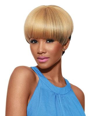 Sleek Tongable Synthetic Wig Coco