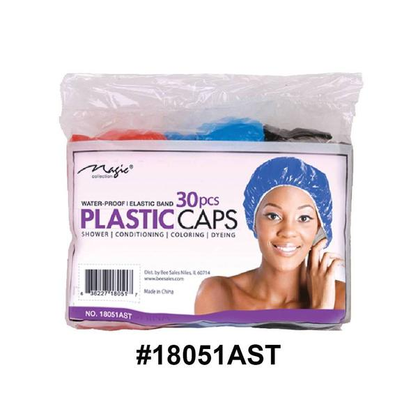 Magic Collection Women's Shower Cap 30pc Pack 18051ast