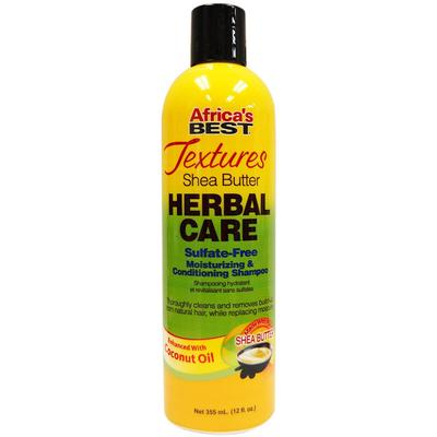 Africa's Best Textures Herbal Care Moisturizing & Conditioning Shampoo