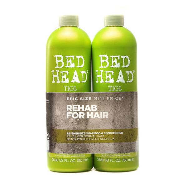 Tigi Bed Head Re-energize Shampoo & Conditioner Duo Pack