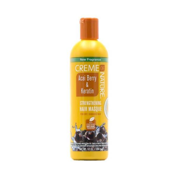 Creme Of Nature Acai Berry & Keratin Strengthening Hair Masque
