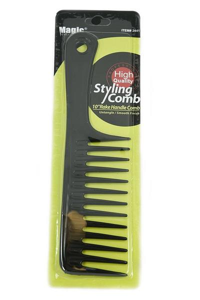 Magic Collection 10'' Rake Handle Comb - 2441