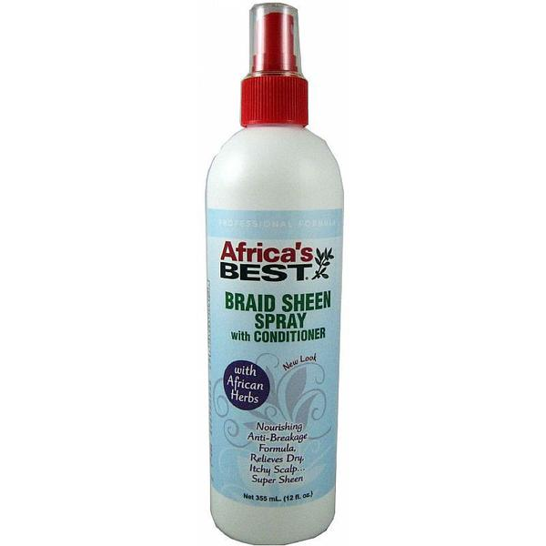 Africa's Best Braid Sheen Spray