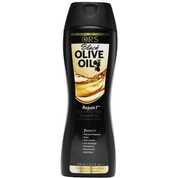 Ors Black Olive Oil Repair7 Sulfate-free Shampoo