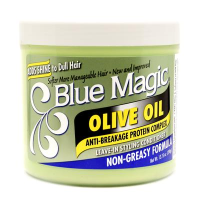 Blue Magic Olive Oil Leave-in Styling Conditioner
