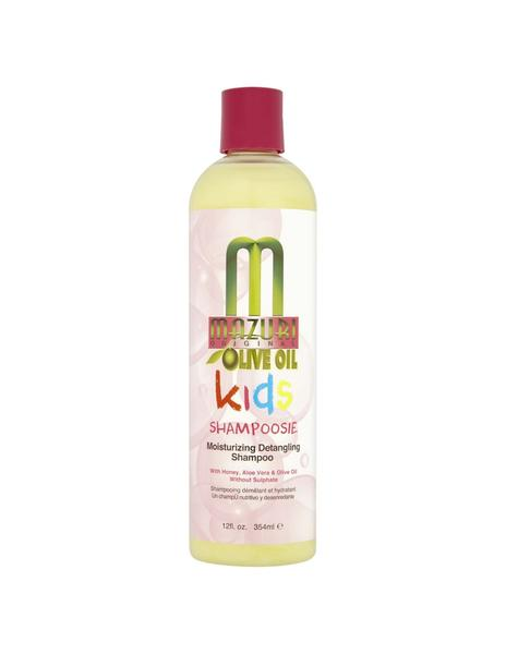 Mazuri Kids Olive Oil Shampoosie Moisturizing Detangling Shampoo