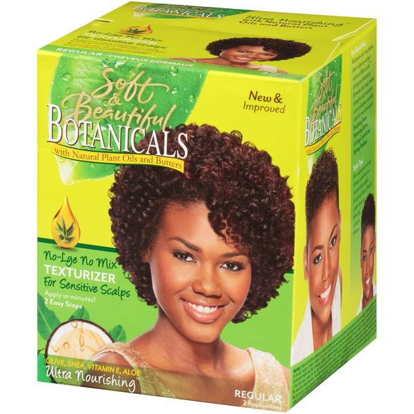 Soft And Beautiful Botanicals No Lye No Mix Texturizer