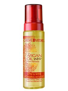Creme Of Nature Argan Style And Shine Foaming Mousse