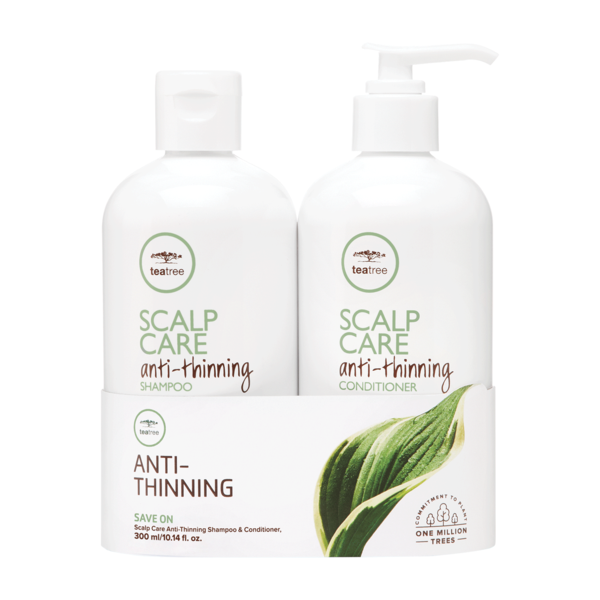 Paul Mitchell Tea Tree Scalp Care Anti Thinning Shampoo & Conditioner