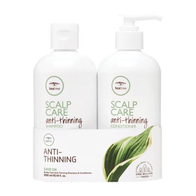 Paul Mitchell Tea Tree Scalp Care Anti Thinning Shampoo & Conditioner