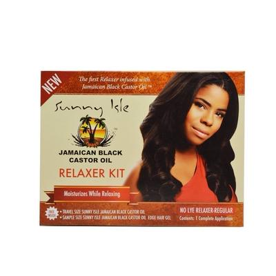 Sunny Isle Jamaican Black Castor Oil Hair Relaxer Kit