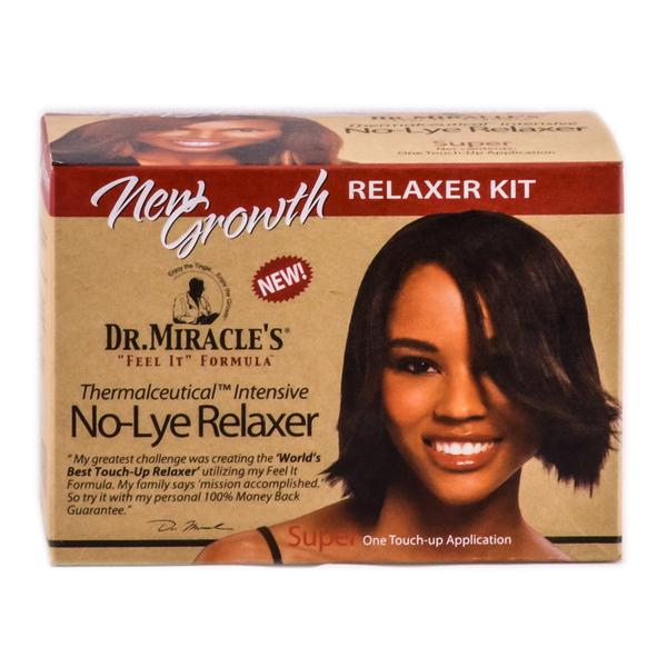 Dr Miracles No Lye Relaxer Kit Super