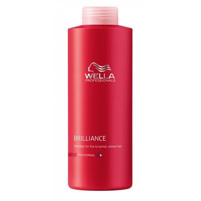 Wella Professional Brilliance Shampoo Fine
