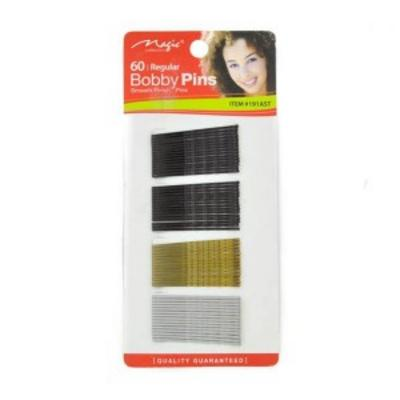 Magic Collection 60 Regular Bobby Pins - 191ast