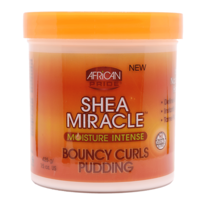 African Pride Shea Butter Miracle Moisture Intense Bouncy Curls Pudding