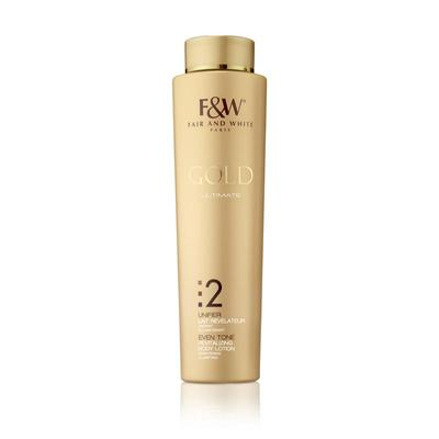 Fair & White Gold Revitalizing Body Lotion