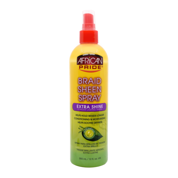 African Pride Braid Sheen Spray Extra Shine