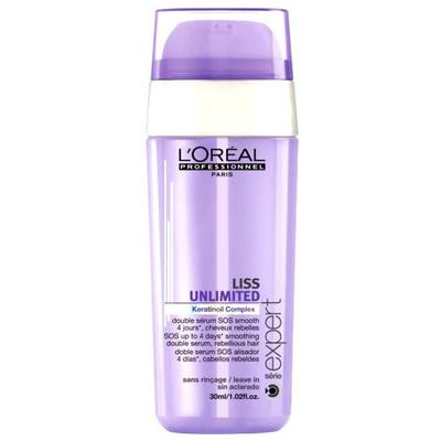 Loreal Liss Unlimited Smoothing Double Serum