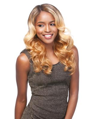 Sensationnel Empress Synthetic Lace Front Edge Wig - Helena