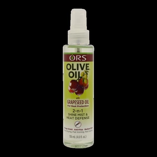 Ors Olive Oil 2-n-1 Shine Mist & Heat Defense