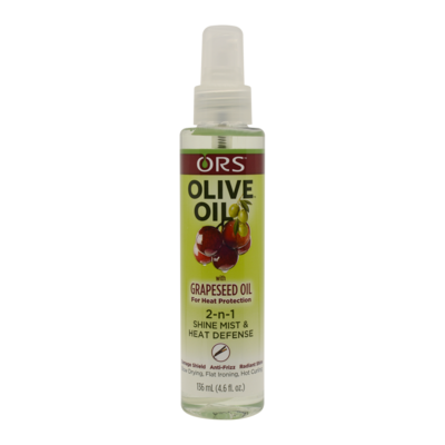 Ors Olive Oil 2-n-1 Shine Mist & Heat Defense