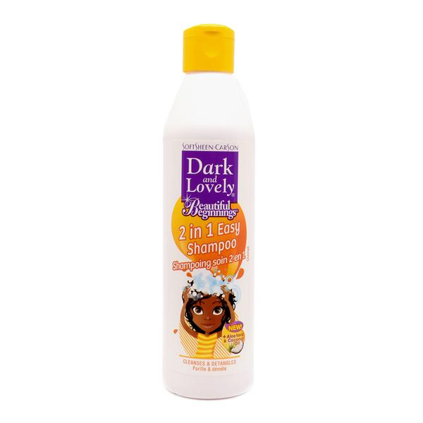 Dark And Lovely Beautiful Beginnings 2 In 1 Easy Shampoo