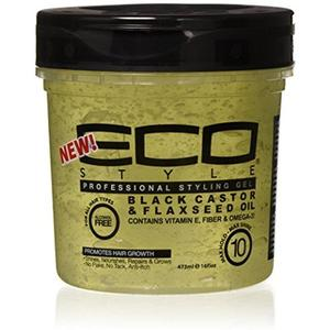 Eco Styler Black Castor & Flaxseed Gel
