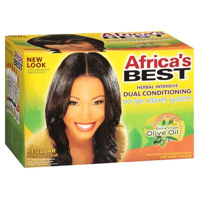 Africa's Best Dual Conditioning No Lye Relaxer System
