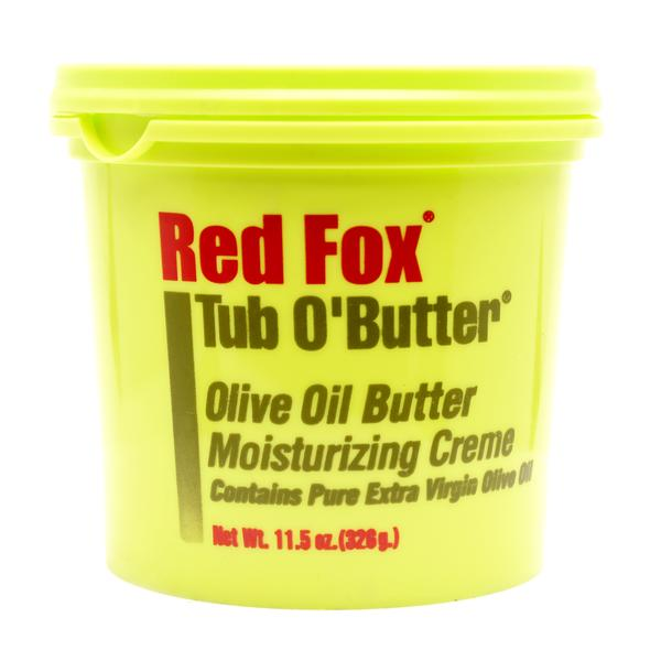 Red Fox Tub O'Butter Olive Oil Butter Moisturizing Creme