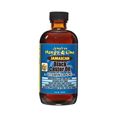 Jamaican Mango & Lime Black Castor Oil (vitamin A-d-e)