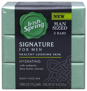 Irish Spring Signature For Men Hydrating Bar Soap (pack Of 3)