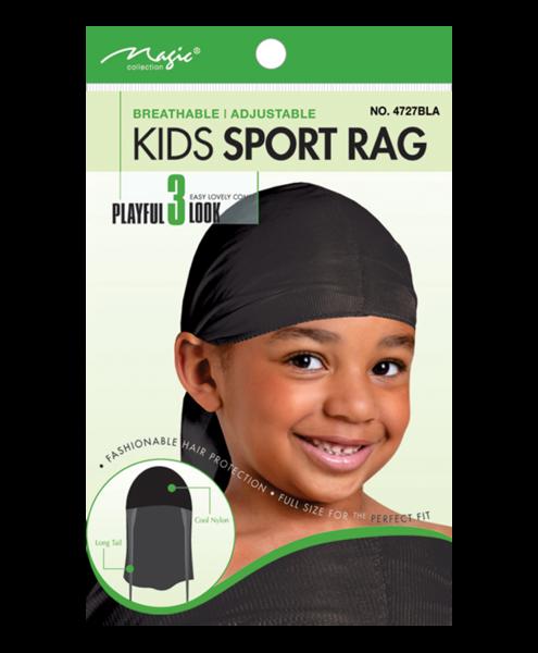 Magic Collection Kids Sport Rag Black - 4727bla