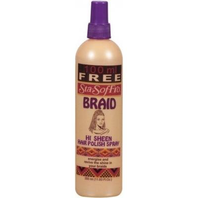 Sta Sof Fro Braid Hi Sheen Hair Polisher Spray