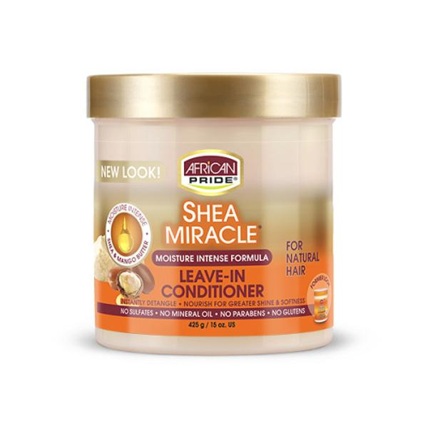 African Pride Shea Butter Miracle Moisture Intense Leave-in Conditioner